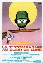 La 7ème Compagnie Au Clair De Lune (1977) afişi