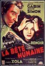La Bête Humaine (1938) afişi