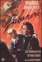 La Habanera (1937) afişi