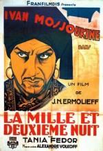 La Mille Et Deuxième Nuit (1933) afişi