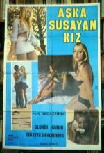 Aşka Susayan Kız (1974) afişi