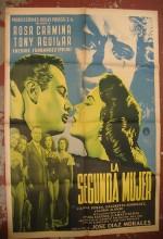 La Segunda Mujer (1953) afişi
