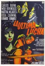 La última Lucha (1959) afişi