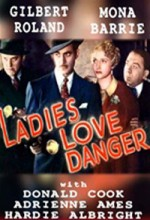 Ladies Love Danger (1935) afişi