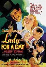 Lady For A Day (1933) afişi