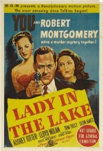 Lady In The Lake (1947) afişi