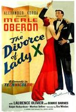 Lady X Boşanıyor (1938) afişi