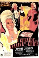 L'affaire Du Collier De La Reine (1946) afişi