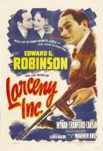 Larceny, Inc. (1942) afişi