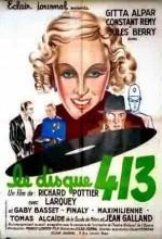 Le Disque 413 (1937) afişi
