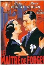 Le Maître De Forges (1933) afişi