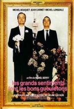 Les Grands Sentiments Font Les Bons Gueuletons (1973) afişi