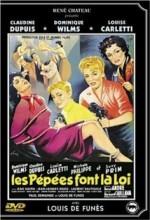 Les Pépées Font La Loi (1955) afişi