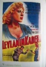 Leylanın Kaderi (1957) afişi