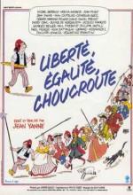 Liberté, égalité, Choucroute (1985) afişi