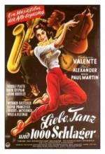 Liebe, Tanz Und 1000 Schlager (1955) afişi