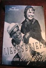 Liebesbriefe Aus Dem Engadin (1938) afişi