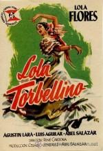 Lola Torbellino (1956) afişi