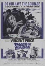 Londra Kulesi (1962) afişi