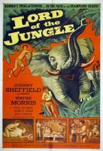 Lord Of The Jungle (1955) afişi