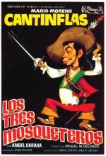 Los Tres Mosqueteros (1942) afişi
