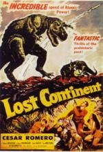 Lost Continent (1951) afişi