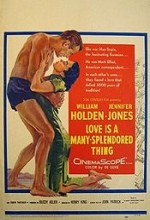 Love Is A Many-Splendored Thing (1955) afişi