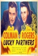 Lucky Partners (1940) afişi