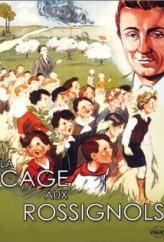 La cage aux rossignols (1945) afişi