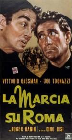 La marcia su Roma (1962) afişi