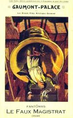 Le faux magistrat (1914) afişi