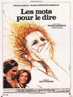 Les mots pour le dire (1983) afişi
