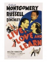 Live, Love And Learn (1937) afişi