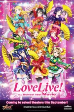 Love Live! The School Idol Movie (2015) afişi