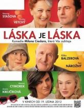 Láska je láska (2012) afişi