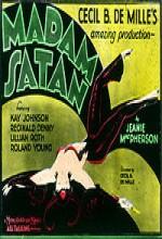 Madam Satan (1930) afişi