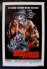 Madhouse (1974) afişi
