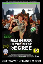 Madness In The First Degree (2008) afişi