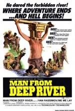 Derin Nehirden Gelen Adam (1972) afişi