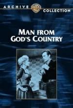 Man From God's Country (1958) afişi