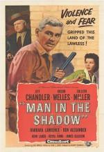 Man In The Shadow (1957) afişi