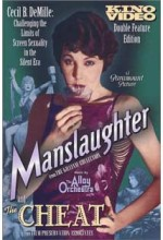 Manslaughter (1922) afişi