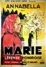 Marie, Légende Hongroise (1933) afişi