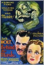 Maskenin Arkasında (1932) afişi