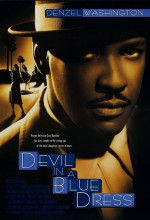 Mavi Elbiseli Şeytan (1995) afişi