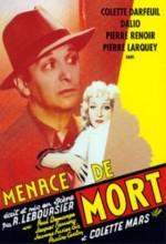Menace De Mort (1949) afişi