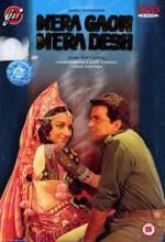 Mera Gaon Mera Desh (1971) afişi