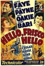Merhaba Frisco,merhaba (1943) afişi