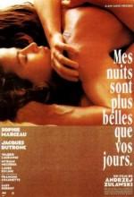 Mes Nuits Sont Plus Belles Que Vos Jours (1989) afişi