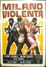 Milano Violenta (1976) afişi